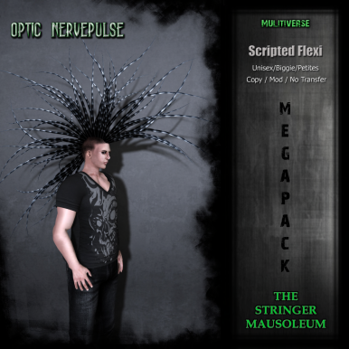 The Stringer Mausoleum - Optic Nervepulse - Event LE